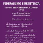 FEDERALISMO E RESISTENZA